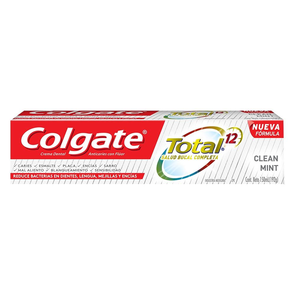 CREMA DENTAL TOTAL CLEAN MINT COLGATE PZ 150 ml